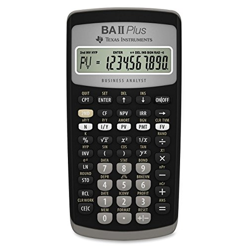Texas Instruments BA II Plus Financial Calculator (Ti Ii Plus compare prices)
