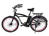 Newport-Beach-Cruiser-Electric-Bicycle-Black