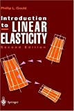 img - for Introduction to Linear Elasticity by Phillip L. Gould (1993-12-09) book / textbook / text book