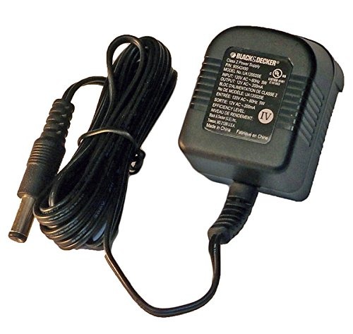 Black and Decker GC1200 Drill Replacement 12V Charger # 90542490-01 (12v Black And Decker Charger compare prices)