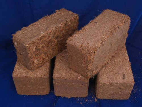 Cocopeat Coconut Coir 5 Bricks Coco Coir Organic Potting Soil Amendments