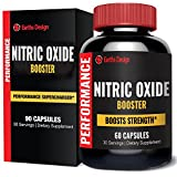 Extreme Nitric Oxide Booster, with L-arginine and L-glutamine to Build Muscle Fast, Boost Performance, Build Strength & Boost Energy, Increase Workout Endurance and Recovery Rate - 60 Capsules