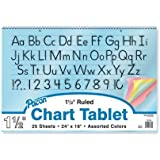 Pacon Colored Paper Chart Tablets 74734