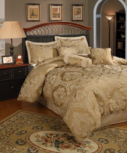 Bedding Comforter Set 1: 2013 SALE!! Central Park Halifax Gold