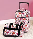 2-Pc. Kids Luggage Bag Set - Hearts