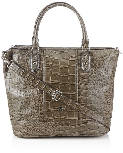 Gerry Weber Womens Bright Eyes Hobo Handbag Brown Braun (mud 752) Size: 36x32x15 cm (B x H x T)