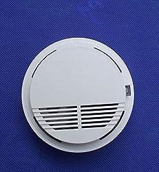 New 433MHz Wireless Smoke Fire Sensor Detector For Security Burglar Alarm System