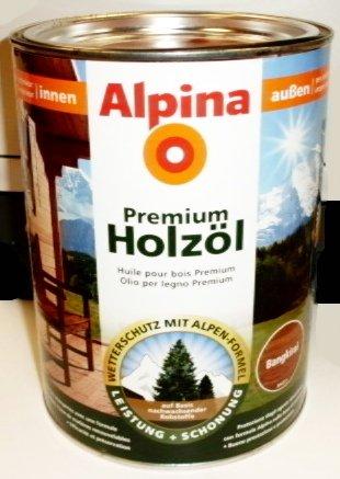alpina premium holz l 2 5 l innen preisvergleich shops tests 4001244725151. Black Bedroom Furniture Sets. Home Design Ideas