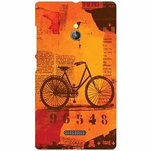 Nokia XL RM-1030/RM-1042 Back Cover ( Designer Printed Hard Case)