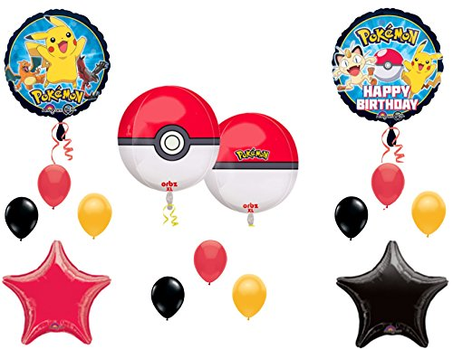 Orbz-POKEMON-GO-Birthday-Party-Balloons-Decoration-Supplies-Pikachu-Game