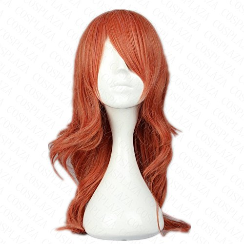 [COSPLAZA Anime Cosplay Wig Synthetic Hair Final Fantasy Oerba Dia Vanille] (Vanille Cosplay Costume)