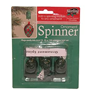 Amazon.com - 3PK Ornament Spinner - Decorative Hanging ...