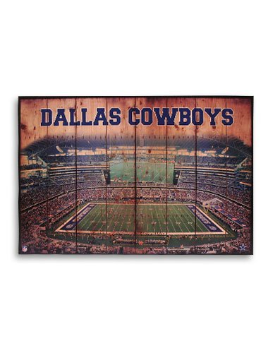 NFL Dallas Cowboys 33x22 Crate Artissimo (Vintage Cowboy Decor compare prices)
