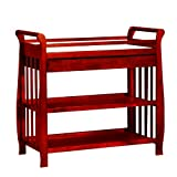 Athena Nadia Baby Changing Table, Cherry