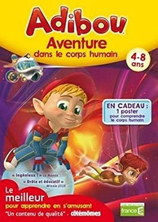 Adibou: Aventure dans le corps humain (vf - French software)