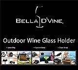 Bella D'Vine Outdoor Wine Glass Holder - Wine Body & Soul (Passion Purple)