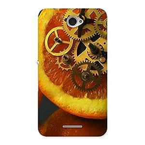 Orange Machines Back Case Cover for Sony Xperia E4