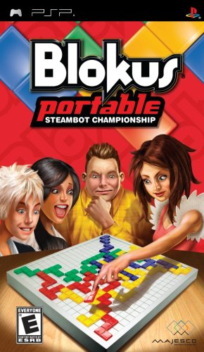 Blokus Portable: Steambot Championship - Sony PSP - 1