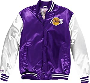 Los Angeles Lakers Mitchell & Ness NBA Sublimated Premium Jacket by Mitchell & Ness