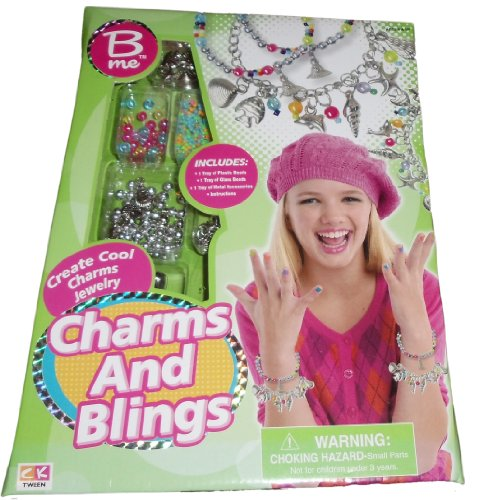 B Me Charms and Blings create Charms Jewelry Craft Kit - 1