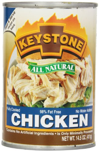 Keystone Meats All Natural Canned Chicken, 14.5 Ounce
