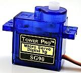 デジタル・マイクロサーボ SG90 (5個)