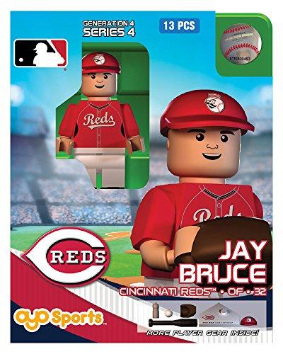 Jay Bruce MLB Cincinnati Reds Oyo G4S4 Minifigure