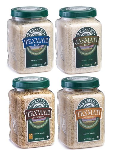 RiceSelect Basic Trial Pack, 4-Jar Set