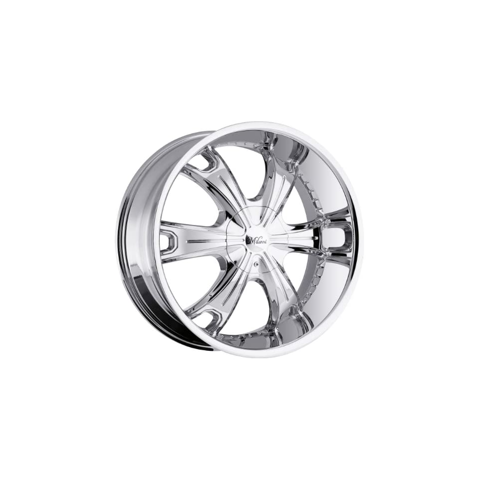 Milanni Stellar 17 Chrome Wheel / Rim 5x115 & 5x5.5 with a 18mm Offset and a 78.1 Hub Bore. Partnumber 452 7825C18