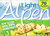 Alpen Light Sultana and Apple Cereal Bar 5 Pack 105g