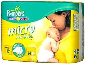 パンパース マイクロ 新生児より小さいサイズ 24枚