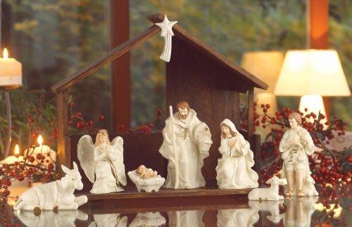 Belleek Holiday Collection Nativity Set Home Garden Decor