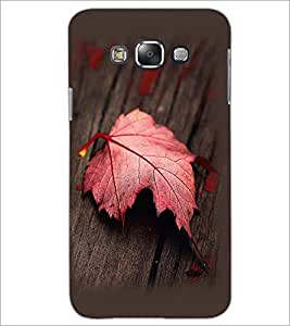 PrintDhaba Mapple Leaf D-2354 Back Case Cover for SAMSUNG GALAXY GRAND 3 (Multi-Coloured)