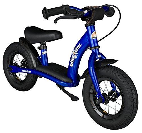 BIKESTAR® 25.4cm (10 pouces) Vélo Draisienne pour enfants ? Edition Classic ? Couleur Bleu