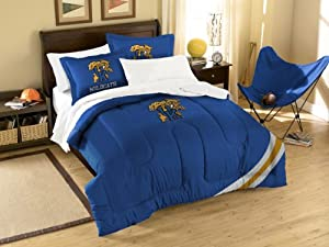 NCAA Kentucky Wildcats Twin Full Sized Comforter with Shams by Northwest