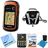 Picture Of Garmin 010-01508-00 – eTrex 20x Handheld GPS Battery Bundle includes eTrex 20x GPS, Screen Protector 3-Pack, Cleaning Kit, Gadget Bag, AA Batteries and Charger and Microfiber Cleaning Cloth