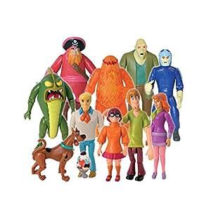 Scooby Doo 10 amis et d'ignorés Collection Action Figure