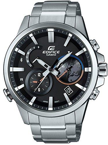 [カシオ]CASIO 腕時計 EDIFICE TIME TRAVELLER スマートフォンリンクモデル EQB-600D-1AJF メンズ