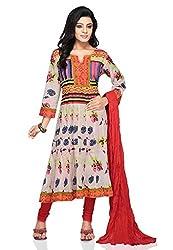 Vastra Vinod Women's Cotton Anarkali Suit Dress Material (vtas132-4xl_Multi-Coloured)