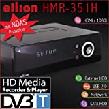 Ellion HMR-351H HDMI DVB-T Receiver Media Recorder NDAS-Player