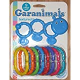 Garanimals Texured Links Baby 9 Piece Toy Set -babys First Toys