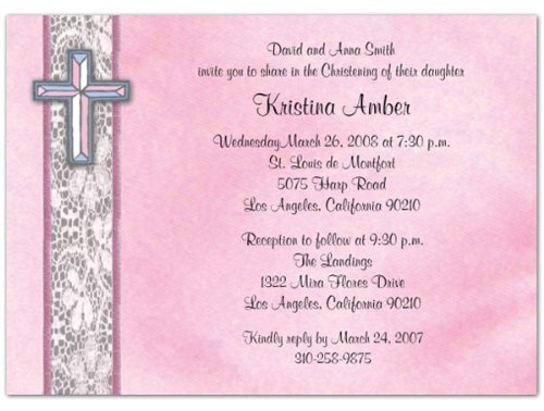 Baptism Invitations Photo front-275430