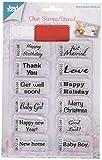 Joy Craft Clear Stamp/Die Ticket Stub