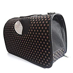 Pawzone Polka Dots Dog Travelling Bag-S