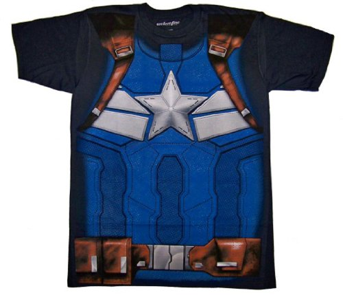 Captain America I Am Winter Soldier Costume T-shirt