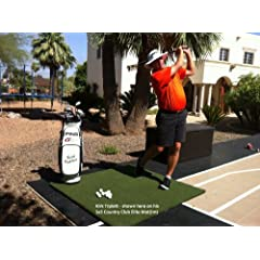 Country Club Elite Real Feel Golf Mat 5