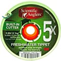 Scientific Anglers Freshwater Tippet with Cutter 30-meters