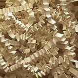 1/2 LB Crinkle Cut Paper Shred - Light Ivory