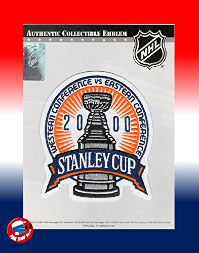 2000 STANLEY CUP FINAL PATCH NEW JERSEY DEVILS VS DALLAS STARS (Devils Stanley Cup compare prices)
