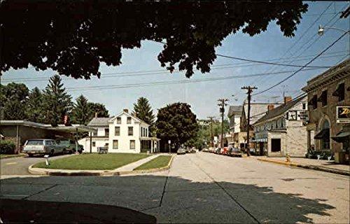 Bridge Street in Milford, New Jersey